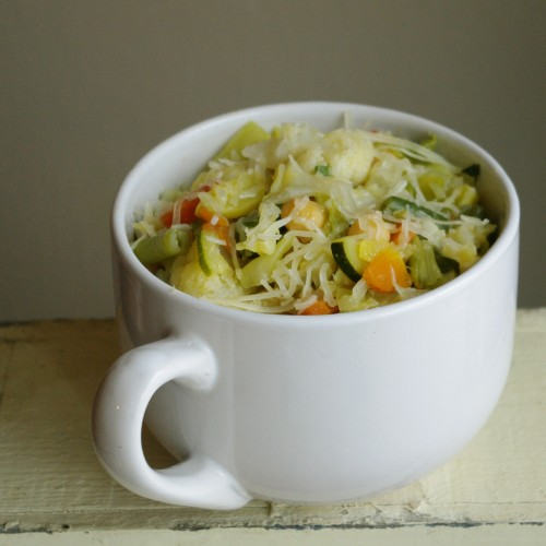 Minestrone Soup bowl