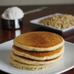 100% Oat Flour Pancakes