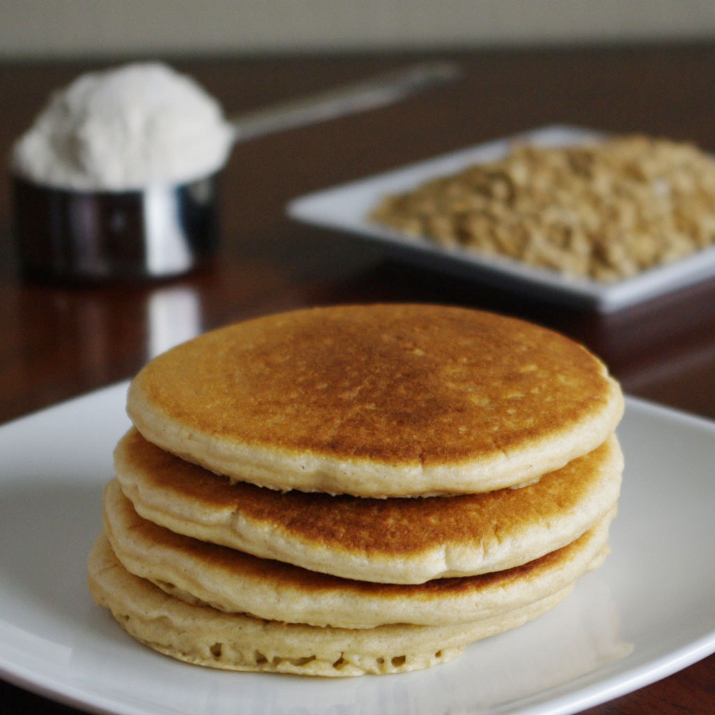 Oatmeal pancakes - a light dietary treat 78