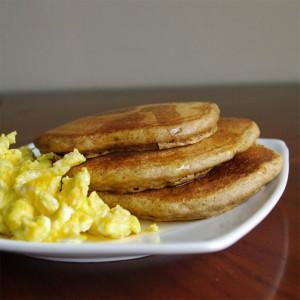 Spelt Gingerbread Pancakes