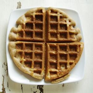 Ricotta Spelt Waffles