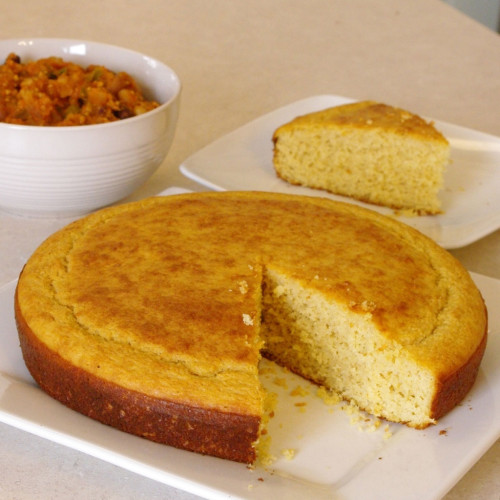 Corn-Free Cornbread and Pumpkin Chili