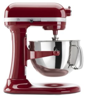 red kitchenaid Stand Mixer Professional 600